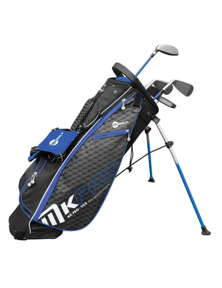 MKids Pro SGX juniorsæt blå 155cm