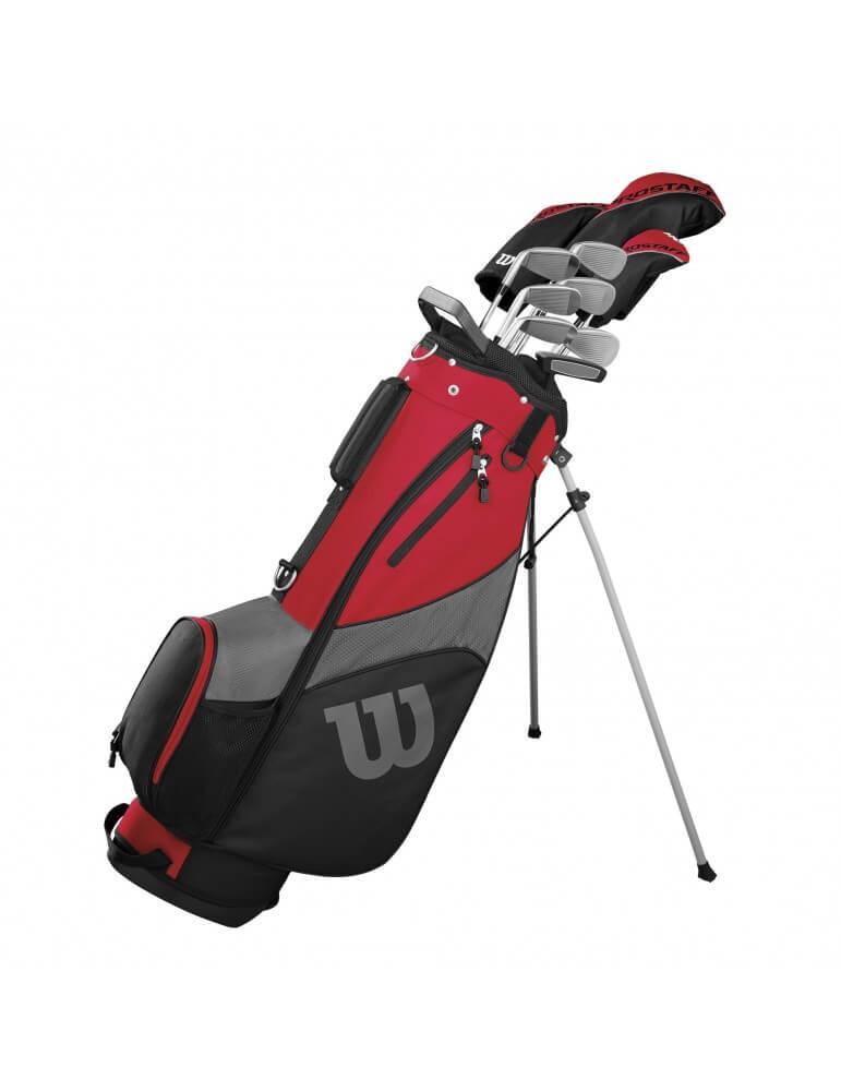Prostaff SGI komplet golfsæt - grafit (10 jern)