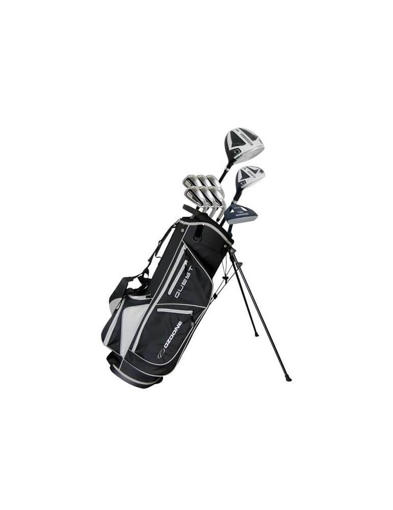 Ozoone Quest komplet golfsæt i stål, Herre RH