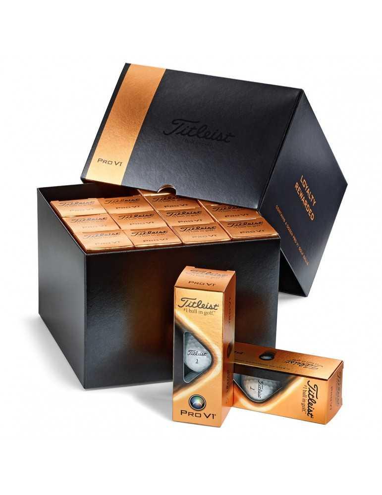 Titleist Pro V1 Loyalty Rewarded box